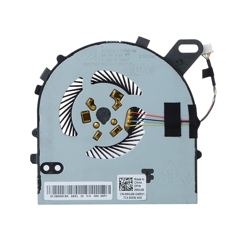 7560 Fan for Dell Inspiron 15 7560 15-7560 Vostro 5468 5568 CPU Fan DC028000ICD0 0W0J85 factory price 2 pcs auto laser lamp car door welcome lights led car logo projector light original car logo for changan cs35 logo