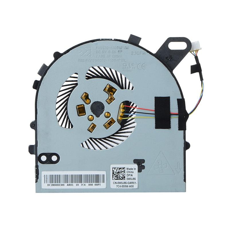7560 Fan For Dell Inspiron 15 7560 15-7560 Vostro 5468 5568 CPU Fan DC028000ICD0 0W0J85