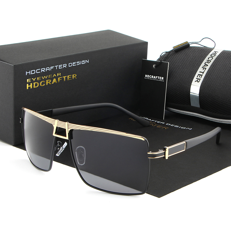 2017 New Fashion Square HDCRAFTER Sunglasses