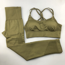 Seamless Yoga Set Women Fitness Clothing Sportswear Woman Gy