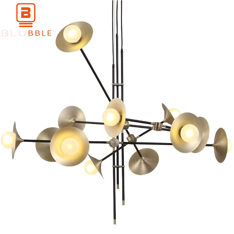 Blubble 3/6/12 Heads Horn Branch Lamp Originality Metal Pendant Lights Ac 110-240v G9 Pendant Lamp Restaurant Hotel Led Hanglamp Moderate Price