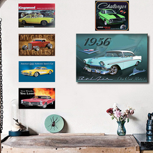 Retro Car Vintage Metal Plate Tin Signs Wall Poster Decals Painting Bar Club Pub Home Decor 1001(656)