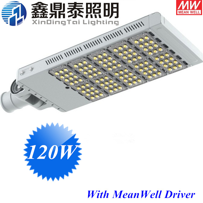 Street Lights 120W LED Street Light Excellent Heat Sink Design Highway Road Lamp Streetlight With Meanwell Driver