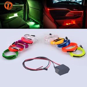 POSSBAY 4m Car Neon Light LED