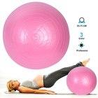 ①  ПВХ 55/65 / 75см Body Sharper Woman Yoga Ball Прочный Тренажер Фитнес Баланс ①