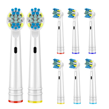 8 PCS Replacement Toothbrush Heads for Oral B Head Compatible with Braun Brush