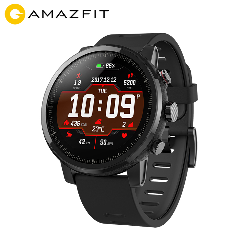 English Version AMAZFIT Stratos AMAZFIT 2 Smart Sports Watch Bluetooth GPS 512MB 2GB 5ATM Waterproof 1