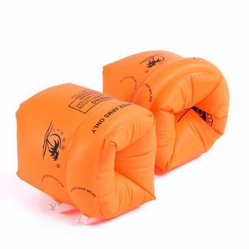 2 sztuk partia dla dorosłych dziecko żółty klej pcv basen motylki pływające pierścienie dzieci nadmuchiwane pływać życia powietrza rękawy tanie i dobre opinie Arm Swim Ring Strong-Toyers