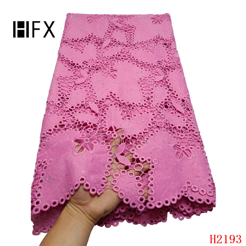 Hot Selling African Cord Lace Fabrics Nigerian Lace Fabric 2019 High Quality Lace Pink French Lace Fabric For Wedding