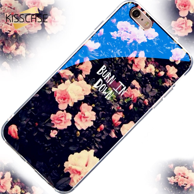 KISSCASE Modern Blue Ray Light Mobile Phone Case For iPhone6 6S Plus 6S 6 7 Plus 5s se 5 Funny Transparent Cover For iPhone 6 6S