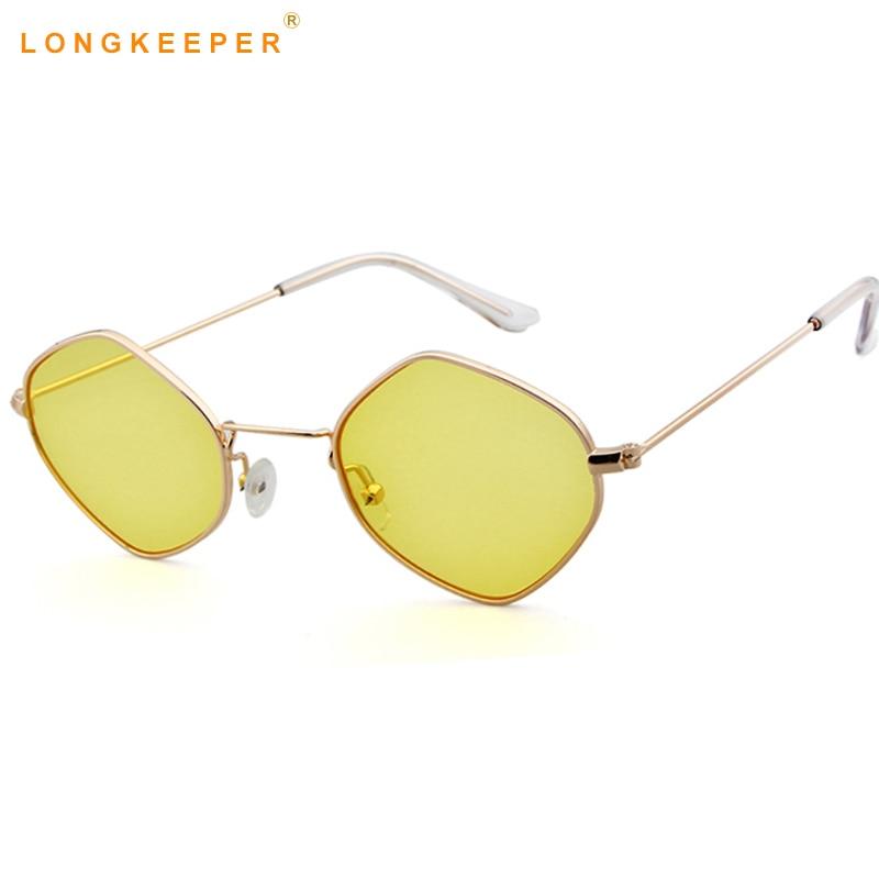 2b1d46cec095 Detail Feedback Questions about 2018 Brand Designer Women Sunglasses Square Polygon  Sunglasses Men Retro Sun Glasses Hexagon Metal Frame TOP UV400 ...