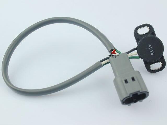 excavator EX200-5 throttle sensor 4614912 for Hitachi stepping motor throttle position sensor excavator spare parts