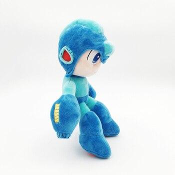 2018 Megaman игра Rockman плюшевые игрушки куклы синий цвет аниме мягкая кукла CAPCOM электронные игры см игрушки 26 см Бесплатная доставка