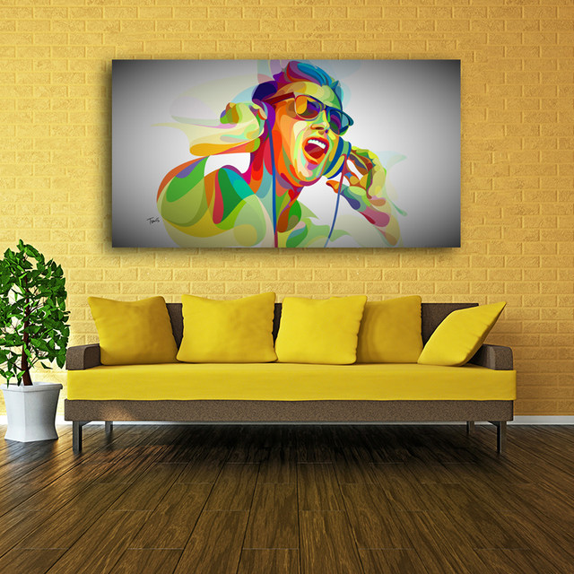 Online Shop 2016 New Big Size Canvas Painting POP Art Abstract ...