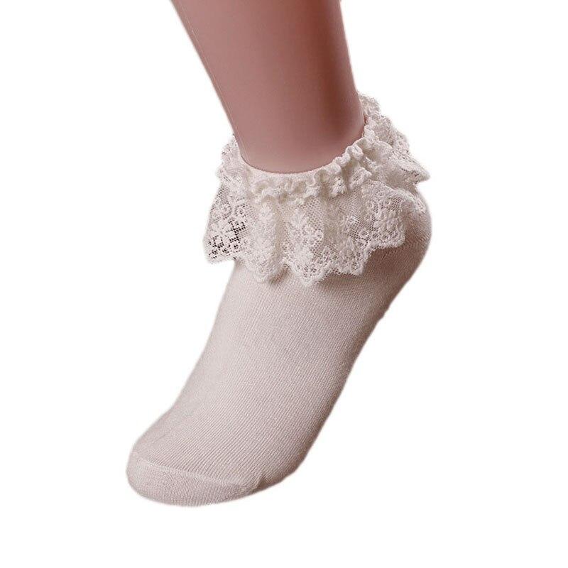 HTB1zDVwKuuSBuNjy1Xcq6AYjFXaq - Retro Pink Lace Ankle Ruffle Socks Women Ladies Girl Fashion Vintage