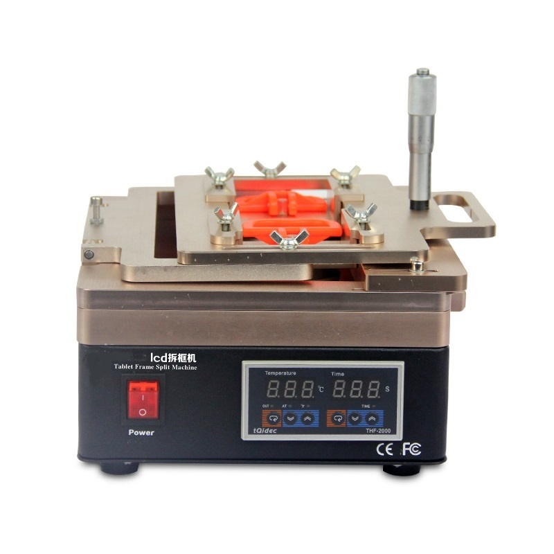 LY 698 LCD screen frame split machine 220V 110V 11 inches work area compatible for below 11 inches