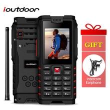 Ioutdoor T2 Feature Mobile Phone IP68 Waterproof 2 Way Radio Walkie Ta