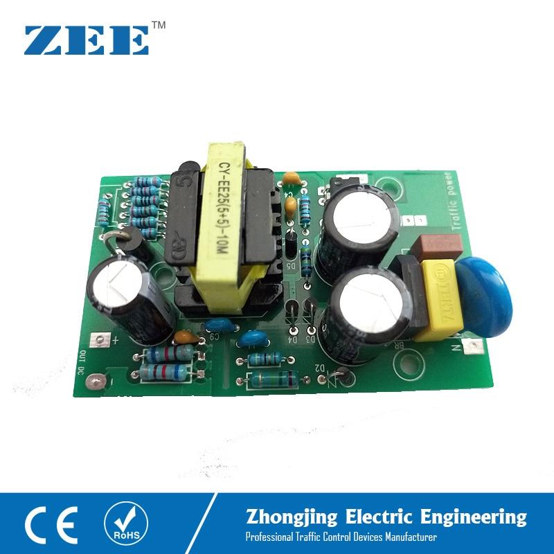 LED Driver Traffic Light LED Power Supply 110V 220V 12V 24V LED Traffic Signal Input Driver