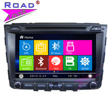 TOPNAVI Wince 6.0 Double Din 8inch Car Head Unit DVD Player Auto Audio For Hyundai IX25 2014- Stereo GPS Navigation Bluetooth