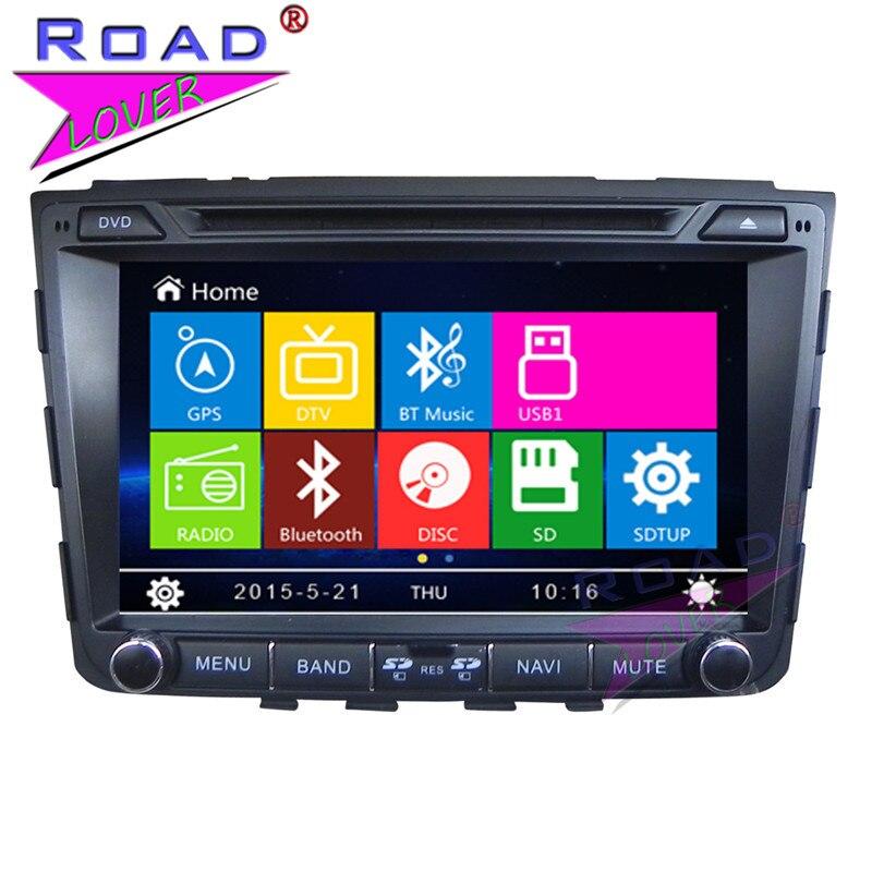 TOPNAVI Wince 6.0 Double Din 8inch Car Head Unit DVD Player Auto Audio For Hyundai IX25 2014 Stereo GPS Navigation Bluetooth