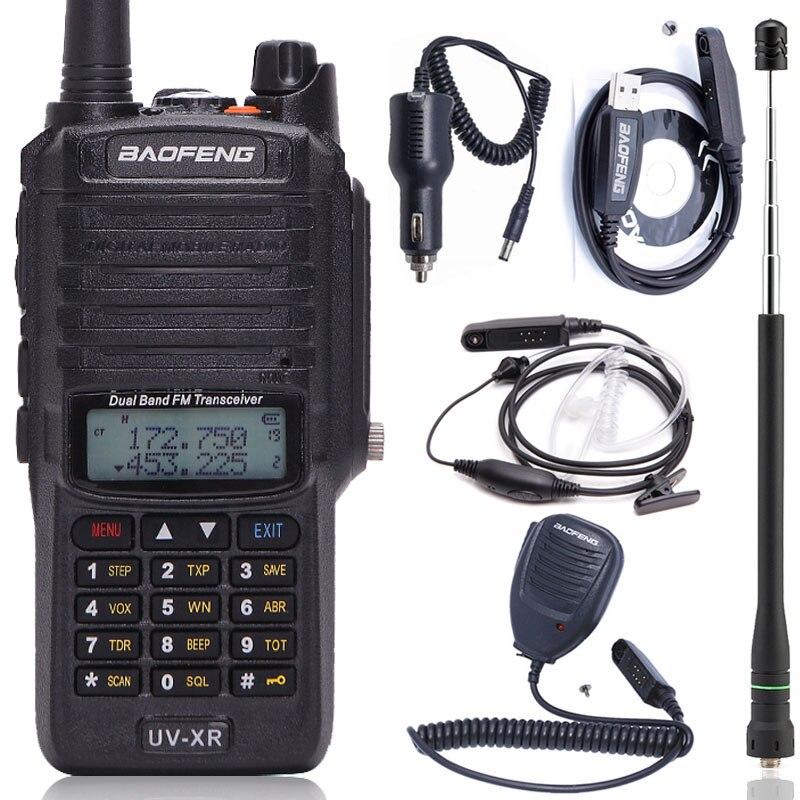 Baofeng UV XR Waterproof Walkie Talkie 10W High Powerful 4800Mah IP67 Dual Band Handheld 10km Ham