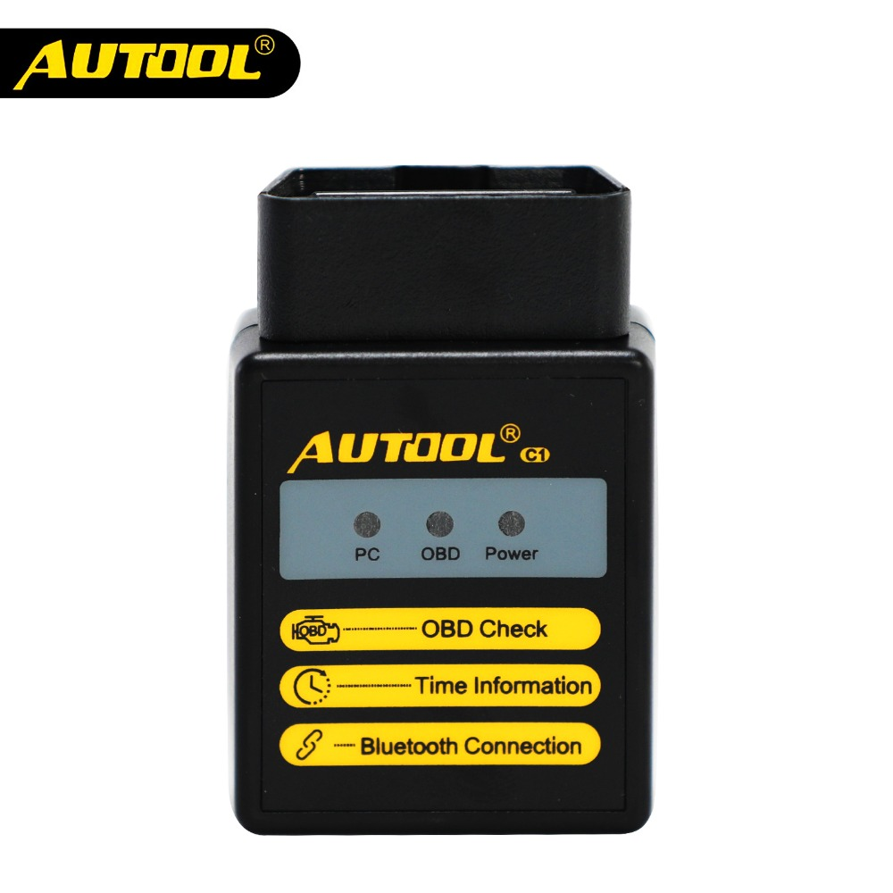 AUTOOL C1 <font><b>ELM327</b></font> <font><b>V1.5</b></font> WIFI <font><b>Bluetooth</b></font> <font><b>OBD2</b></font> ELM 327 Scanner OBD 2 Car Diagnostic Tool <font><b>Automotive</b></font> Code Reader <font><b>Scan</b></font> OBDII 2 <font><b>Adapter</b></font> image