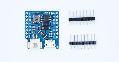 Battery Shield For WeMos D1 mini single lithium battery charging & boost