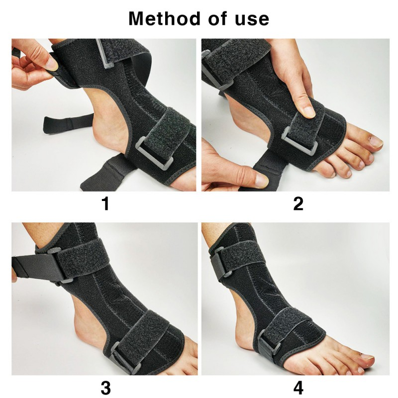 Plantar Fasciitis Dorsal Night Day Splint Foot Orthosis Stabilizer Adjustable Drop Foot Orthotic Brace Support Pain Relief