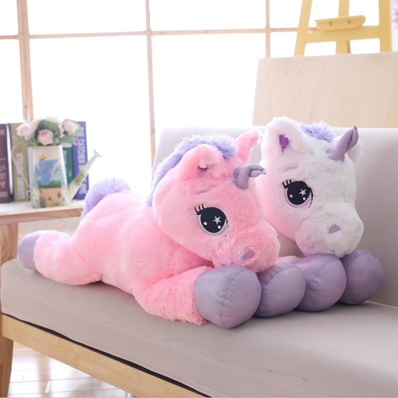 de pelucia unicornio gigante brinquedo cavalo 04