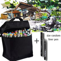 Sketch Color Marker Pen Finecolour Architecture Alcohol Based Art Markers 36/48/60/72 Colors set Manga Marker Drawing