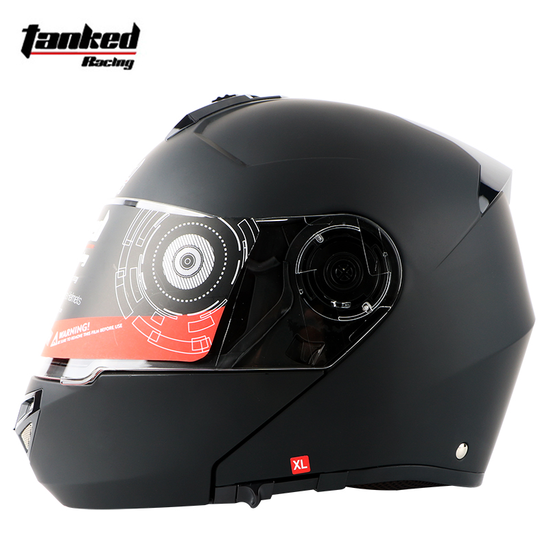 fd9caadc Aliexpress.com : Buy New Motorcycle Helmet Full Face Dual Visor Street Bike  with Transparent Shield with ABS Material with Hot Pressure Sponge Liner  from ...