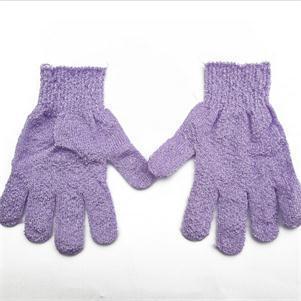 1pc Women Scrubber Body Massage Sponge Gloves Practical Bath Shower Glove Body Wash Shower Gel Exfoliating Accessories