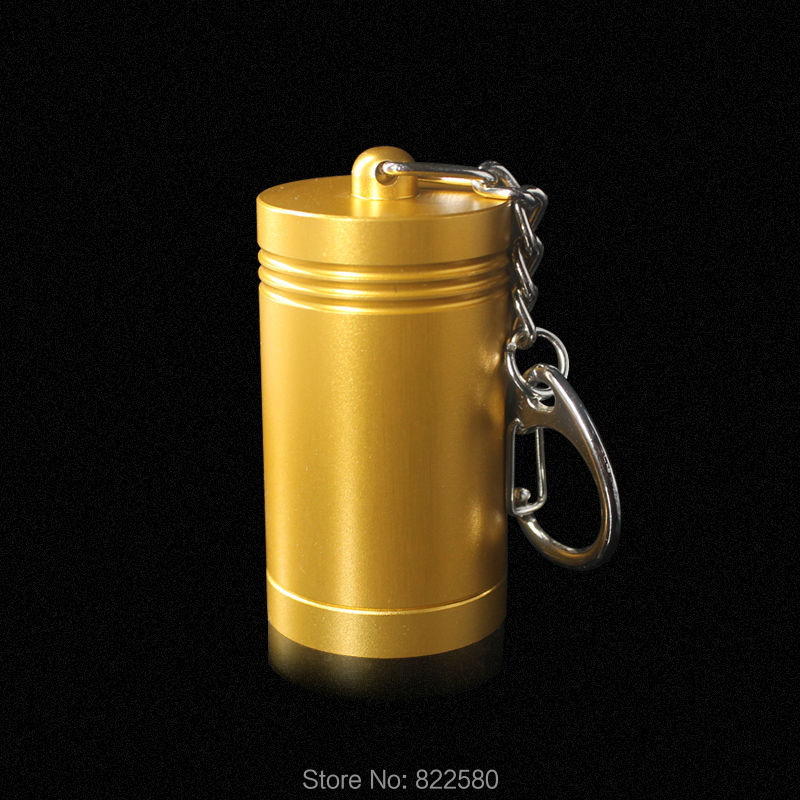 New Arrival!Luxury Gold Aluminium Alloy EAS Magnet Portable Cylindrical Detacher Hard Tag Remover