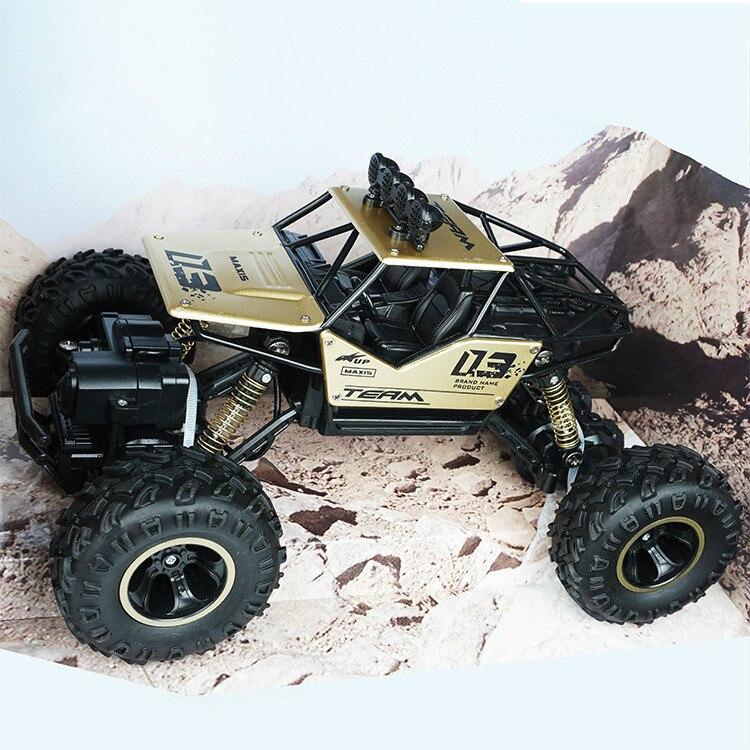 Jouets pour enfants adultes 1:16 4 canaux 4WD 2.4G haute vitesse pistolet type télécommande RC dérive escalade voiture de fond jeep enfants cadeau - 4