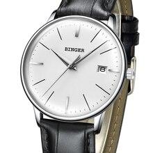 2017 BINGER Mechanical Watch Men Brand Luxury Men's Automatic Watches Sapphire Wrist Watch Male Waterproof Reloj Hombre B5078M-2
