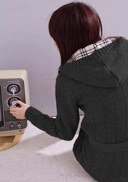Акция, кардиганы, свитера для женщин, длинный стильный Теплый женский свитер, распродажа осенне-зимних курток, Серый кардиган