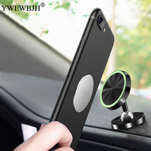 YWEWBJH Luminous Magnetic Car Phone Holder For In Air Vent Dash Board Magnet Movil Stand iPhone