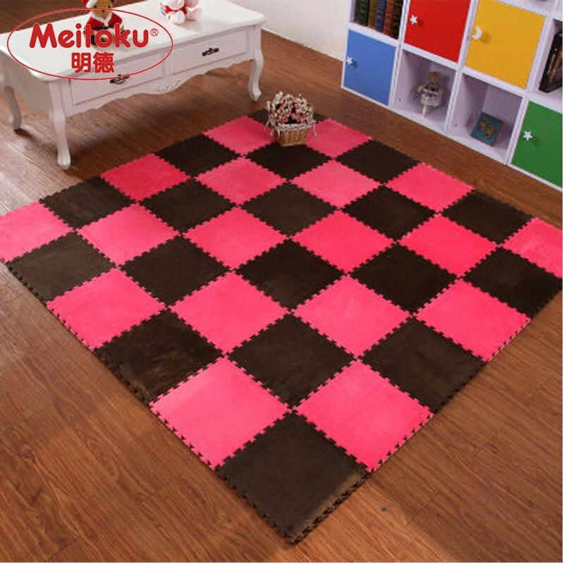Meitoku EVA Foam Interlocking Exercise Gym Exercise Floor font b play b font Puzzle font b