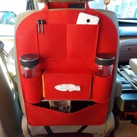 Auto Car Storage Bag Car Seat Multi Pocket Travel Hanger Car Styling Back Seat Cover Organizer
