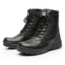 SWAT New Us Military Leather Boots for Men Combat Bot Infantry Tactical Boots Askeri Bot Army Bots Army Shoes Desert Work Boots все цены