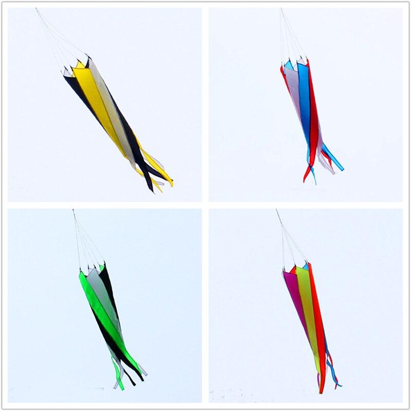 free shipping windsock kite 2pcs lot nylon ripstop outdoor font b toys b font flying kite