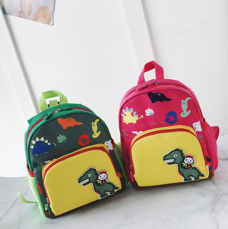 3D Cartoon Dinosaur Bag Baby Toddler Anti lost Leash Harness Strap Walker ONE