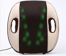Large size New electric home car back massage cushion car back massager waist decompression infrared heating massage chair