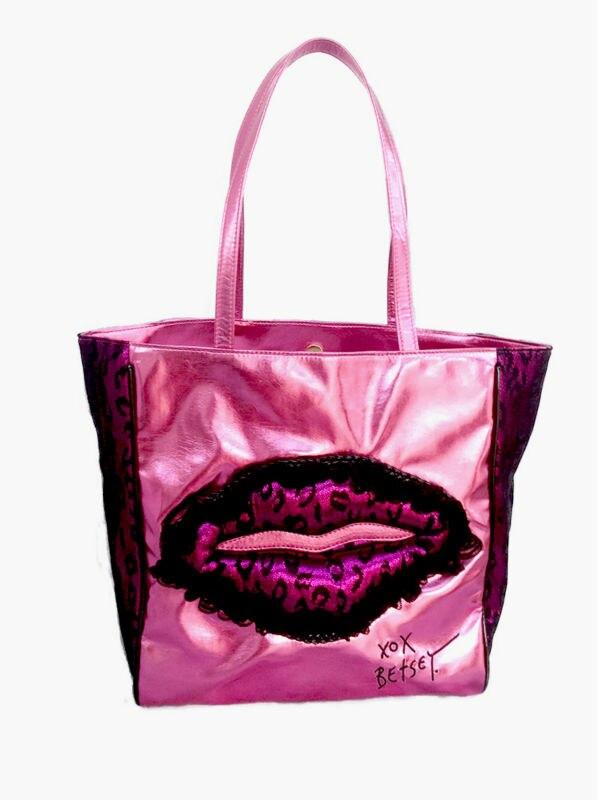 Livraison gratuite Léopard dentelle mei rouge lumière shopping sac Dentelle lèvres épaule sac authentique marque sacs à main