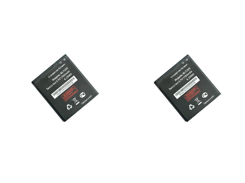 NEW 2pcs/lot 1700mAh / 6.29Wh BL7205 Replacement Battery For FLY IQ4409 Quad ERA life 4 BL 7205 Batterie Bateria Batterij