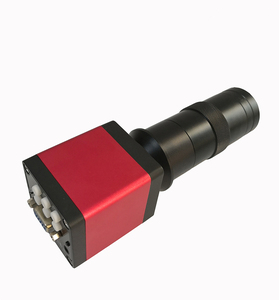 Image 4 - 디지털 HDMI VGA 산업용 현미경 카메라 비디오 현미경 세트 HD 13MP 60F/S + 130X C 마운트 렌즈 + LED 링 라이트 + 금속 스탠드