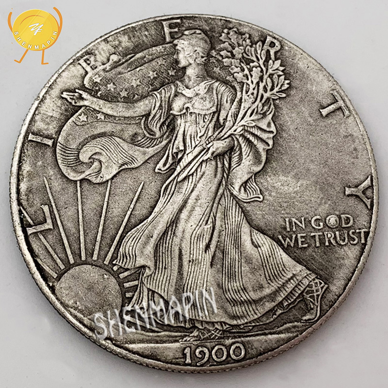 1900 Statue Of Liberty Commemorative Coin 1 Oz Fine Silver