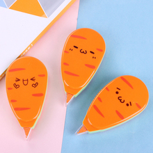 One Piece Cartoon Correction Tape Stationery Office School Supplies  White Out Correction tape for student Kawaii Carrot