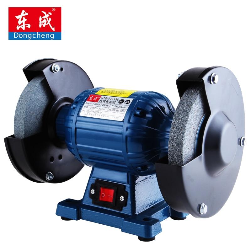 150mm Bench Grinder 250W Disc Sander 220V/50HZ Disc Ginder For Metal hq 125mm bench grinder 250w disc grinder for metal 125x12 7x16mm
