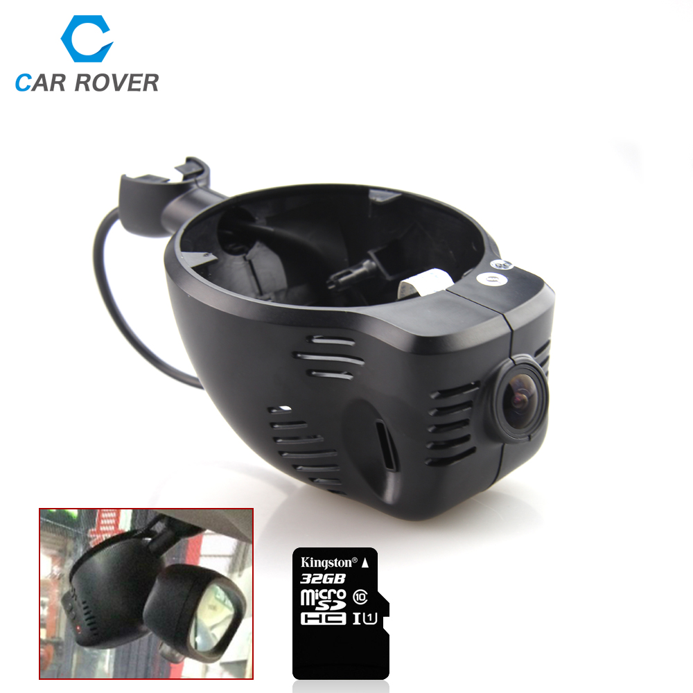 ФОТО Wifi Control Mini Car DVR Hidden Installation Video Recorder 1080p 170 degree for mini / clubman / cooper / countryman 2014 2015